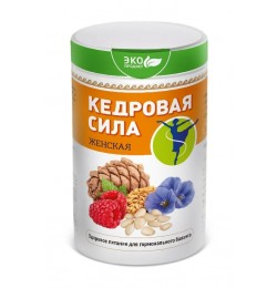 Продукт белково-витаминный Кедровая сила - Женская